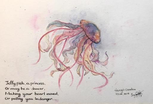 Day 08. Jellyfish princess
